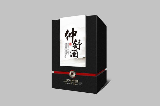 白酒(夜色徐亮酒包装设计,酒包装盒,白酒...@momo917采集到包装(508图)_花瓣工业设计