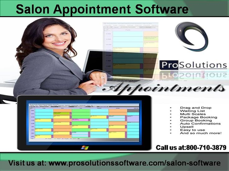 """Salon Appointment Software is completely interfaced with your salon programming. On Line Appointments show up in a split second on book Custom """"web based"""" booking shading Email to client to affirm fruitful booking Modified work of art secure watchword gets to. For more details visit us at:   http://www.prosolutionssoftware.com/salon-software"""