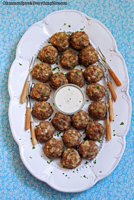 Jalapeno Popper Cocktail Meatballs