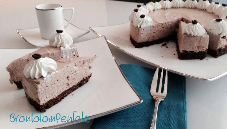 Irish choco-coffee cheesecake