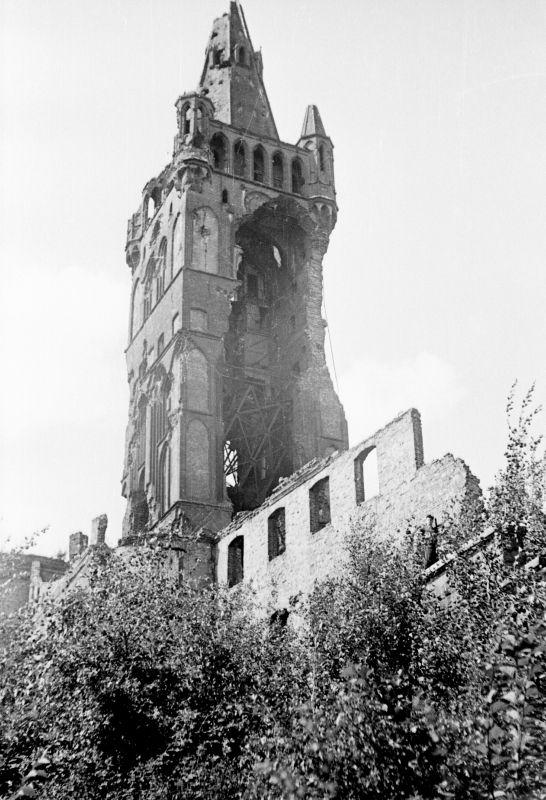 Руины Кёнигсберга. 1947 год