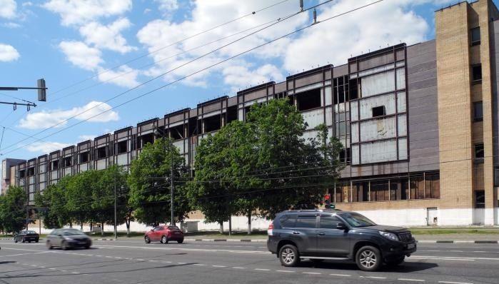 """предполагаемое здание для расположения рабочего пространства/мастерской """"ДЕЛАЙ"""""""