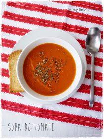 In my little kitchen: Sopa de tomate