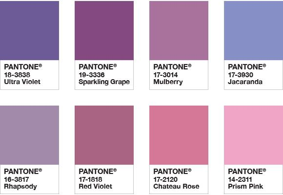 Pantone Color Palette: Kindred Spirits | FiftyFlowers the Blog