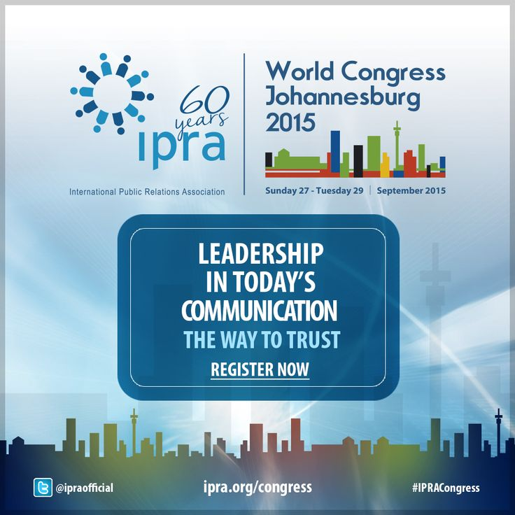 Why is the #IPRACongress 2015 for you? Find out the answers here ...