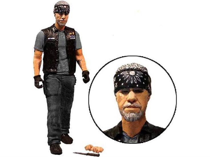 177 best sons of anarchy merchandise images on pinterest sons of sons of anarchy items figures sons of anarchy 6 figure clay exclusive by mezco fandeluxe Image collections