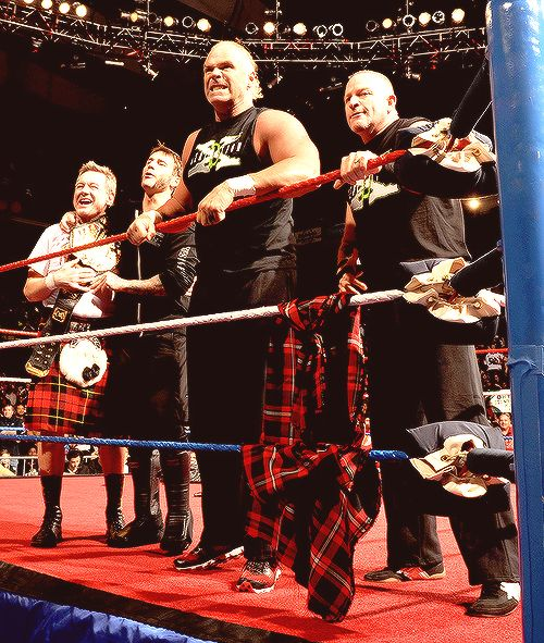 The New Age Outlaws, CM Punk, and Rowdy Roddy Piper