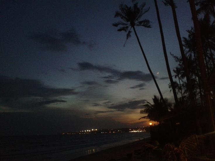 Beautiful evening on the beach  @ Mui Ne