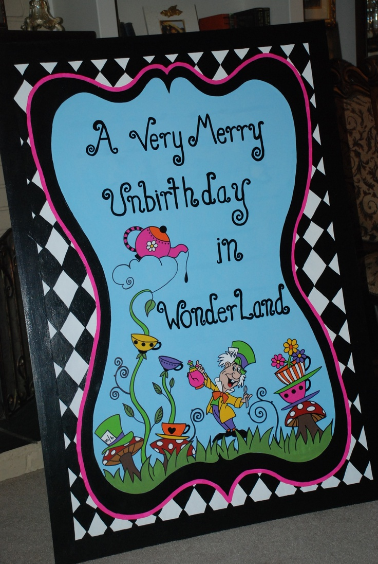 178 best Unbirthday Party images on Pinterest | Wonderland, Party ...