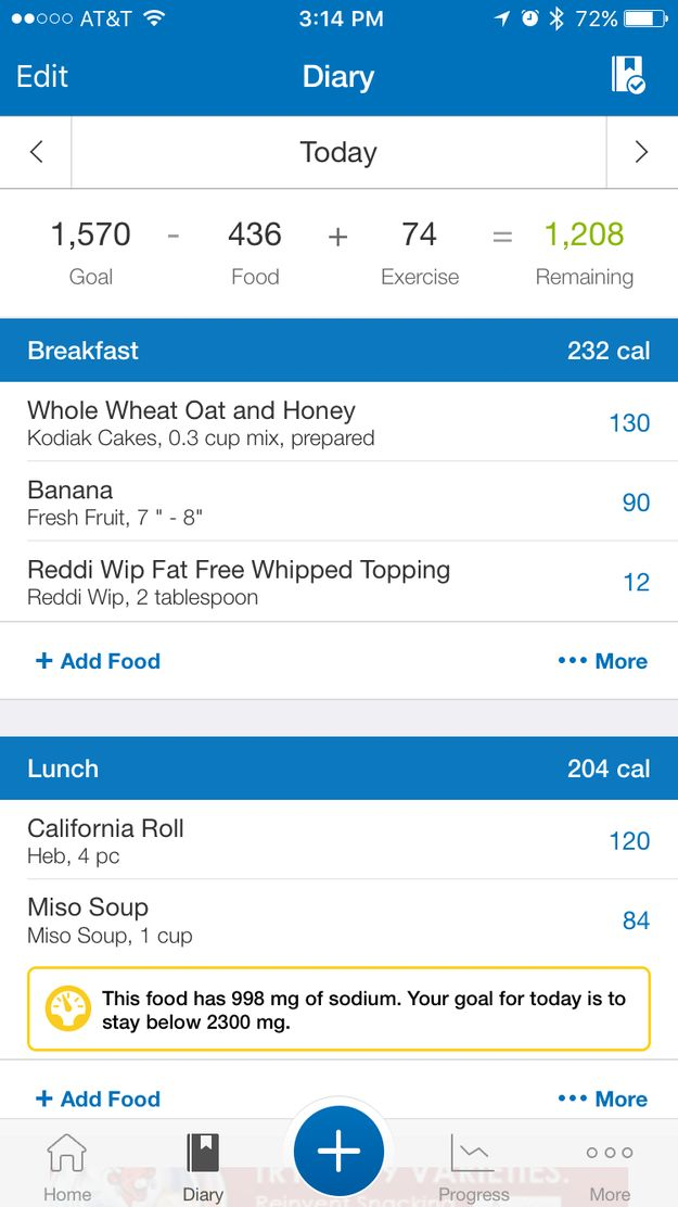 Maybe you started using MyFitnessPal to track your calories and food intake. | What Free Health And Fitness Apps Should Everyone Know About?