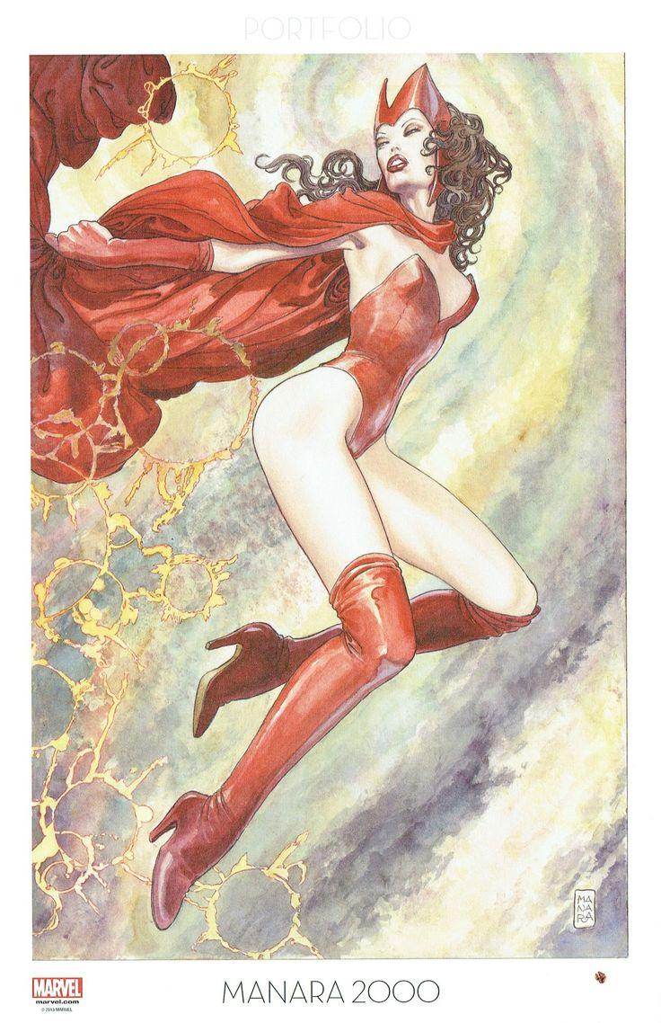 Milo Manara - Vol. 9, Manara 2000-202 (Uncanny Avengers)