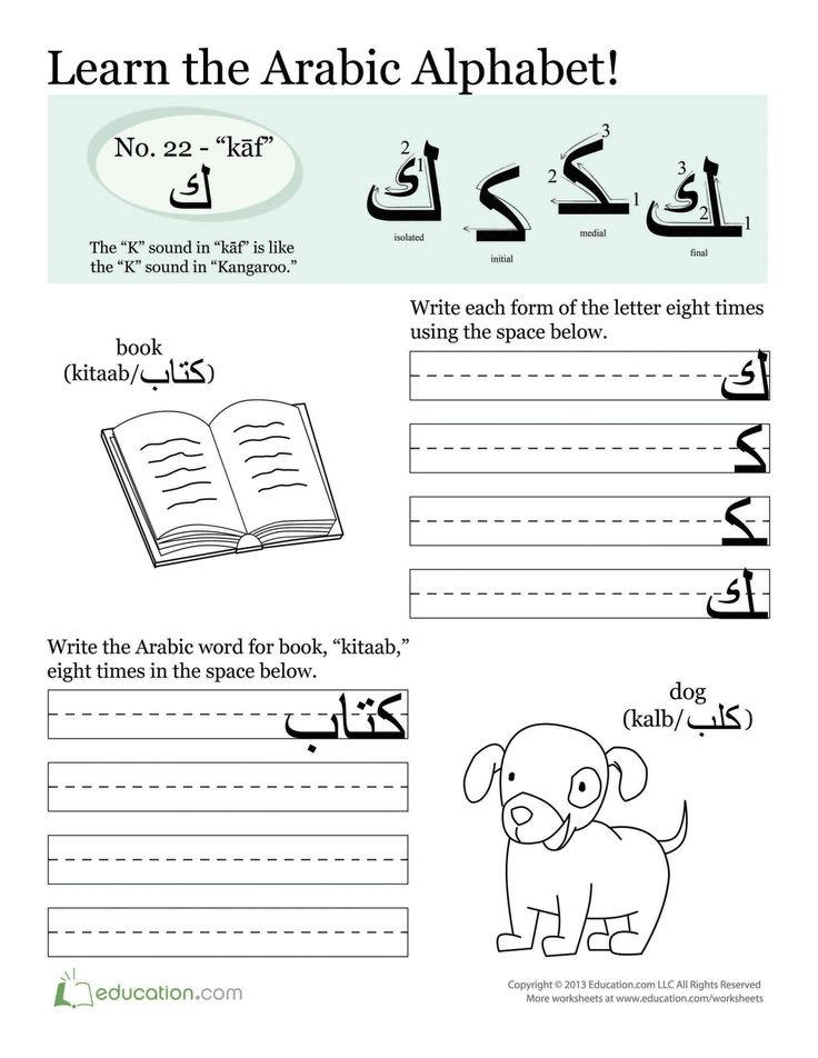 I found some worksheets on http://www.education.com/worksheets/arabic (11/13/2013) that can be used to teach students some arabic calligraphy. This is great for younger students but can be difficult. This would be good to use to make piece of art or to create a title for a cover sheet for paper or poster.