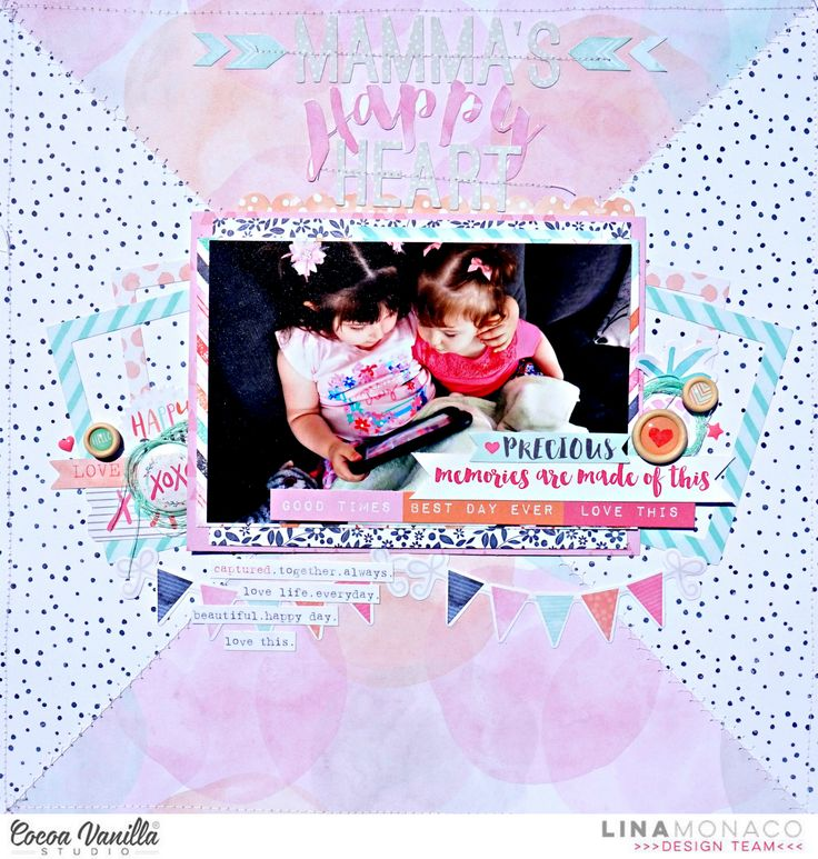 Mamma's Happy Heart | Free Spirit | Lina Monaco