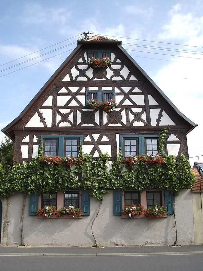 Cottages Facades German Houses Tudor Style Homes Timber House