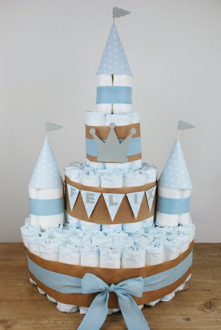Windeltorte DIY diaper cake