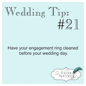 Noteable Expressions: Wedding Tip Tuesday #21