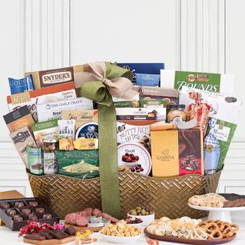 Corporate Business Gourmet Basket. See more at www.pro-gift-baskets.com!