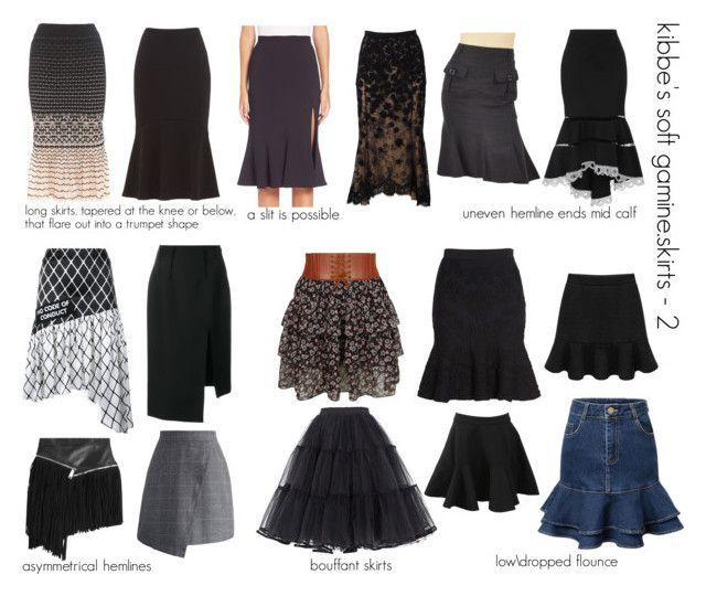 kibbe's soft gamine.skirts-2 …