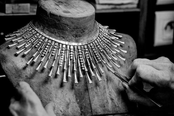 Soleil Radiant necklace #HoteldelaLumiere #HighJewelry #Boucheron