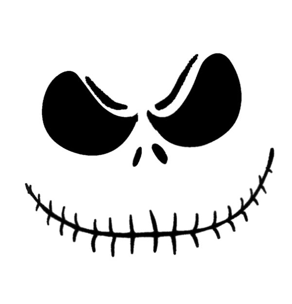 Jack Skellington Pumpkin Stencil Pattern Could Totally