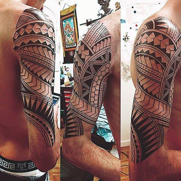 Terbaru 10 Gambar Tato Tribal Batik Di Lengan 100 Maori Tattoo Designs For Men New Zealand Tribal Ink Ideas 1001 Desain Tato Lengan Atas Di 2020 Maori Ide Tato Tato
