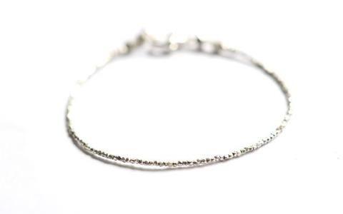 Essential bracelet in Pure silver by Vivien Frank Designs