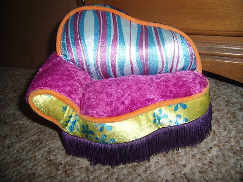 New Groovy Girls Barbie Bratz Furniture Plush Chaise