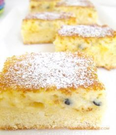 Coconut & Passionfruit Slice