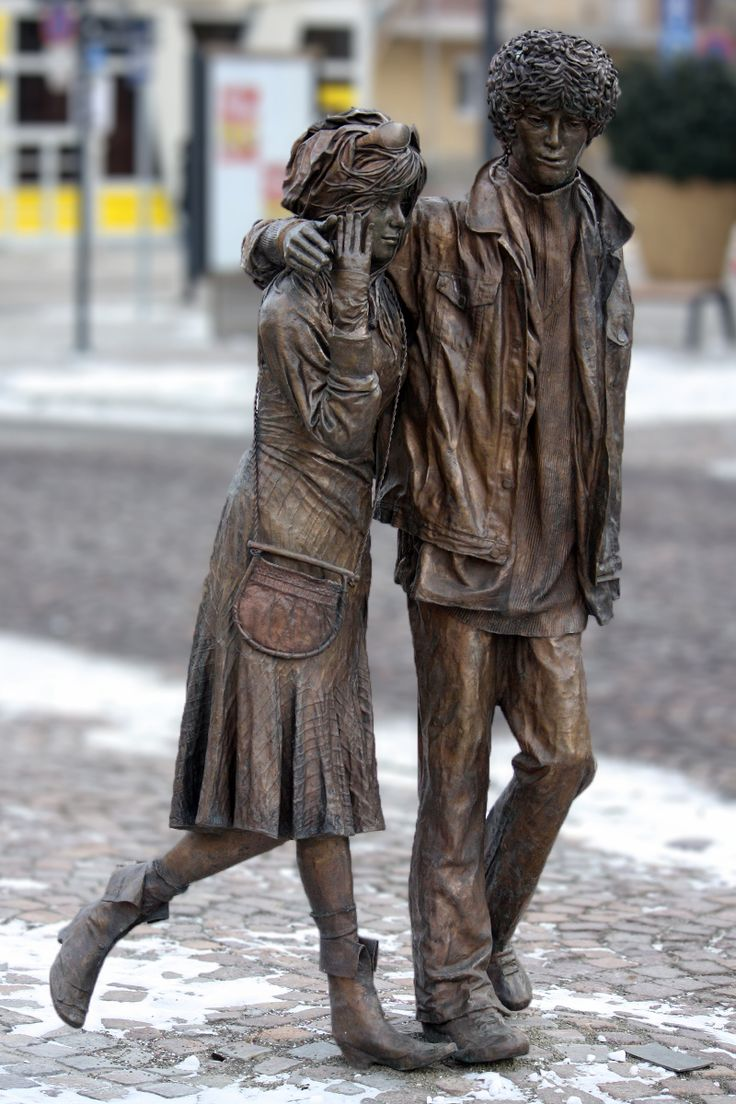 Statue  in Szolnok, Hungary