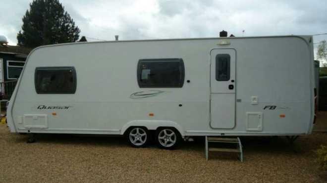 Lunar Quasar FB, 6 Berth, (2008) Used - Good condition Touring Caravans for sale
