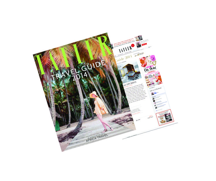 """""""Whoever knew Bali could be this much fun?"""" - Tatler UK, includes Luna2 studiotel in annual travel guide. January 2014.  #luna2 #tatler"""