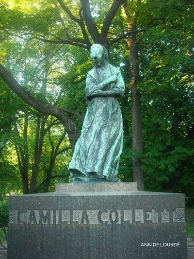 Statue of Camilla Collett by Gustav Vigeland, Spring 2011, Slottsparken, Oslo.