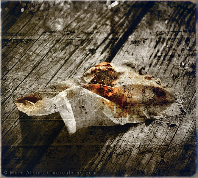 Marc Atkins 'Blood note'