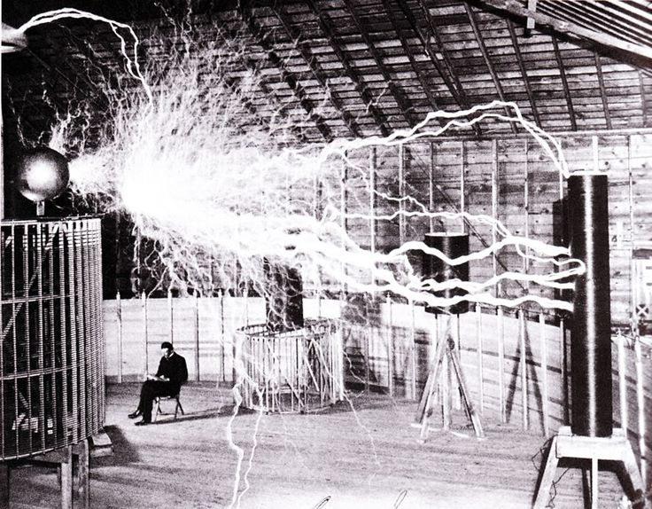 167 best tesla images on pinterest inventors tesla s and tesla coil this publicity photo taken at colorado springs was a double exposure tesla poses with his sciox Gallery