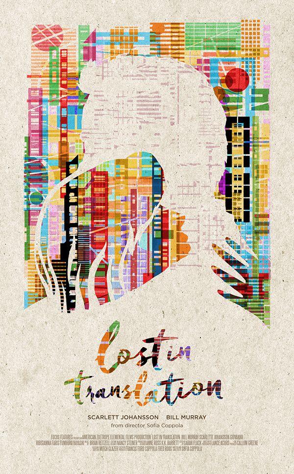 Lost in Translation - movie poster - Romain Livio Bernardo
