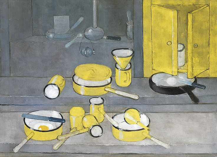 Kiejstut Bereźnicki - Martwa natura z żółtymi naczyniami