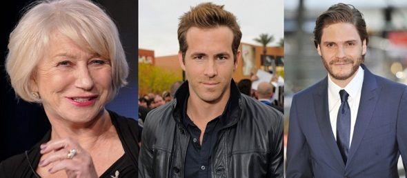 Ryan Reynolds y Daniel Brühl se unen a Helen Mirren en 'The woman in gold'