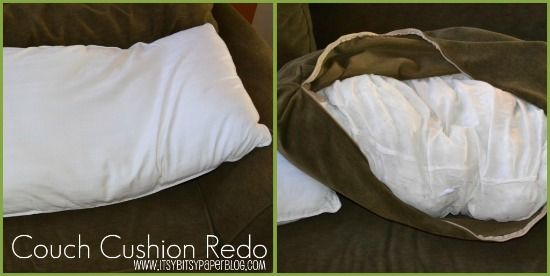 10 Ideas About Couch Cushions On Pinterest