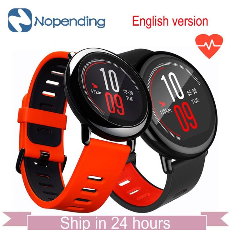 [English Version] NEW Original HUAMI AMAZFIT Pace Sport Smart Watch Smartwatch Bluetooth WiFi 1.2GHz 512MB/4GB GPS Heart Rate //Price: $139.19//     #shopping