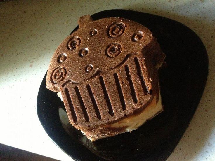 Moje Wypieki | Sernik w cieście czekoladowym