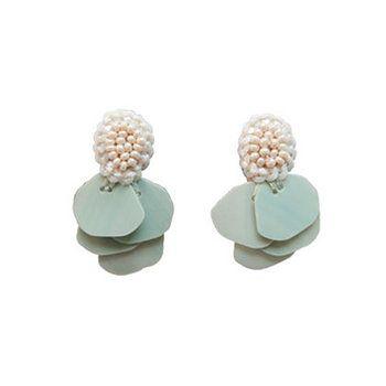 Tamas sequins earrings