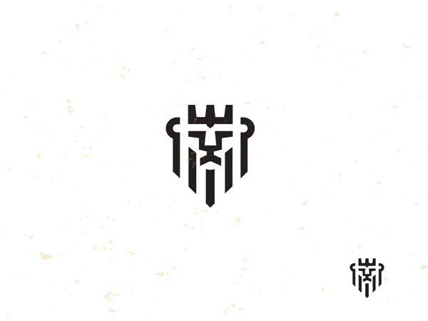 King 2 Mono Line Logo