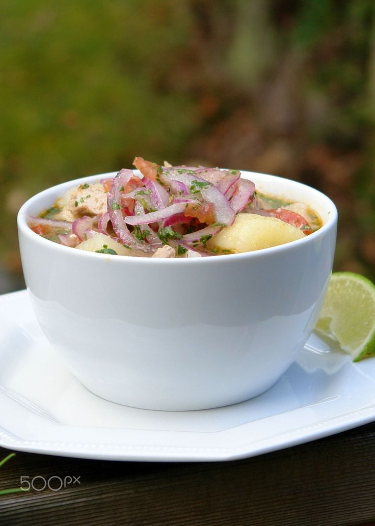 Ecuadorian encebollado fish soup