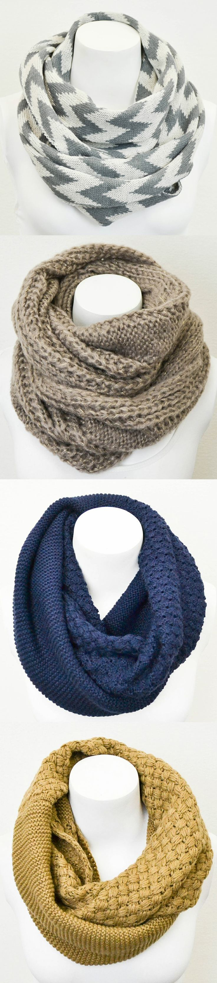 Lovely Infinity Scarves