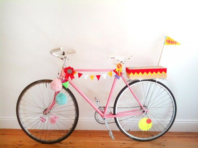 DIY Inspiration: Craft Bike - A Pair & A Spare  ... | A Couple of Brown Finches