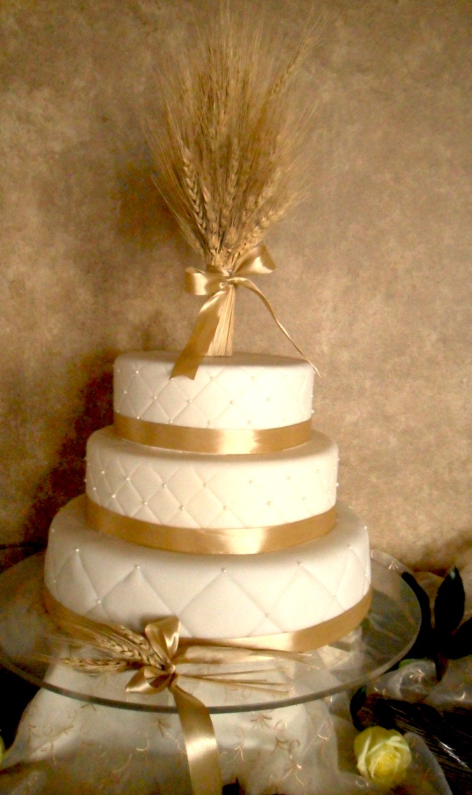 First Communion Cake--on a much smaller scale and with a chalice or grapes?