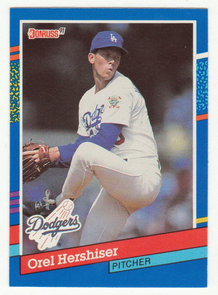Orel Hershiser # 280 - 1991 Donruss Baseball