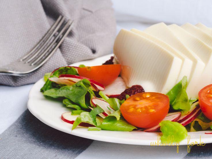 tofu raspberries radish salad recipe