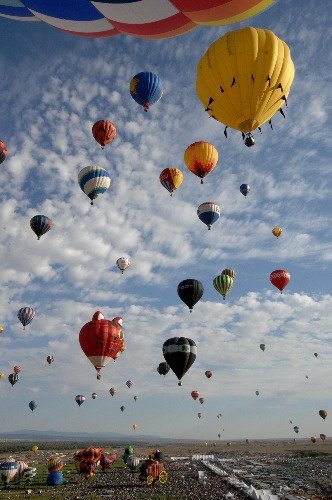 New Mexico hot air balloon festival
