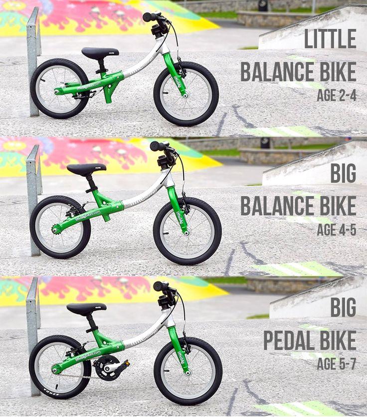 LittleBig - Growing balance bike to kids pedal bike. http://littlebigbikes.com